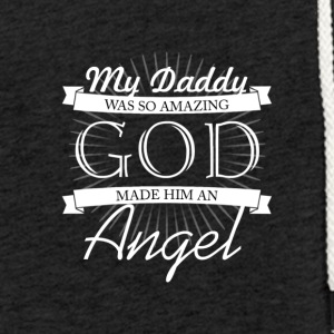 My father is as good angels - Light Unisex Sweatshirt Hoodie