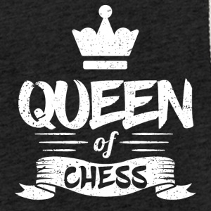 Queen of Chess - Lätt luvtröja unisex
