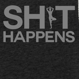 Shit Happens - Yoga - Let sweatshirt med hætte, unisex