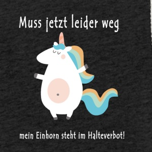 Unicorn Halteverbot - Sweat-shirt à capuche léger unisexe