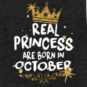 Real princesses are born in October! - Light Unisex Sweatshirt Hoodie