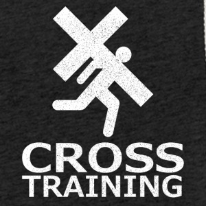 """Cross Training"" (sarkasme) - Let sweatshirt med hætte, unisex"