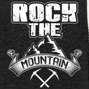 Rock the Montagne - Sweat-shirt à capuche léger unisexe