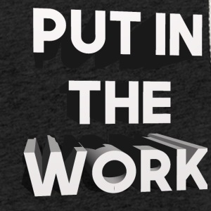 put in the work - Light Unisex Sweatshirt Hoodie