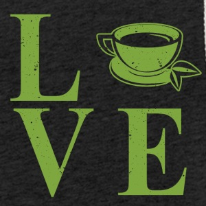 I LOVE TEA! - Let sweatshirt med hætte, unisex