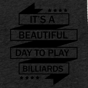I LOVE BILLIARDS! - Let sweatshirt med hætte, unisex