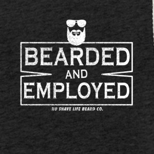 I wear a beard and working! - Light Unisex Sweatshirt Hoodie
