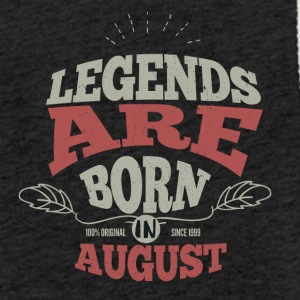 Legends august født bursdagsgave - Lett unisex hette-sweatshirt