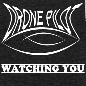 Drone pilot Watching you - Light Unisex Sweatshirt Hoodie