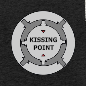 Kissing Point Grey - Let sweatshirt med hætte, unisex