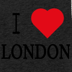I Love London - Leichtes Kapuzensweatshirt Unisex