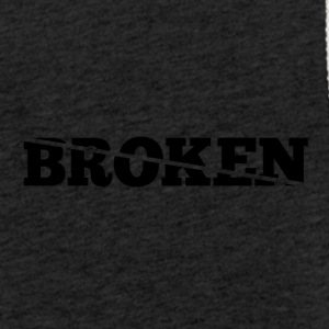 Broken - Sweat-shirt à capuche léger unisexe