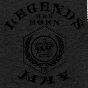 Legends may born birthday gift birth - Light Unisex Sweatshirt Hoodie