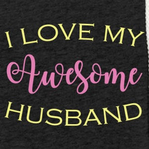 AWESOME HUSBAND - Light Unisex Sweatshirt Hoodie