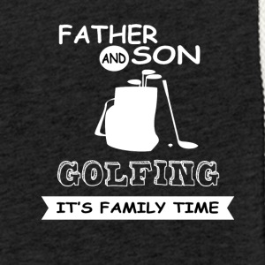 Father And Son - Golfing - Light Unisex Sweatshirt Hoodie