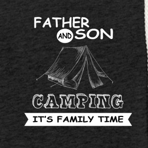 Father And Son - Camping - Light Unisex Sweatshirt Hoodie