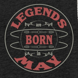 Birthday May legends born gift birth - Light Unisex Sweatshirt Hoodie