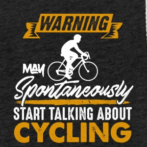 Warning!Bikers Spontaneously talking about Cycling - Light Unisex Sweatshirt Hoodie