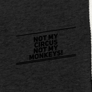 Monkey Circus - Light Unisex Sweatshirt Hoodie