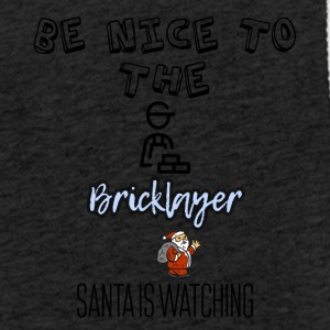 Be nice to the Bricklayer Santa is watching - Light Unisex Sweatshirt Hoodie
