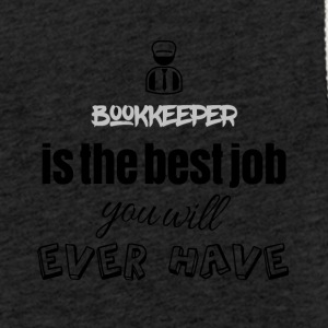 Bookkeeper is the best job you will ever have - Leichtes Kapuzensweatshirt Unisex