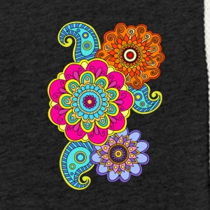 mandala composition - Light Unisex Sweatshirt Hoodie