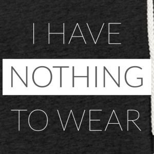 Nothing To Wear - Sweat-shirt à capuche léger unisexe