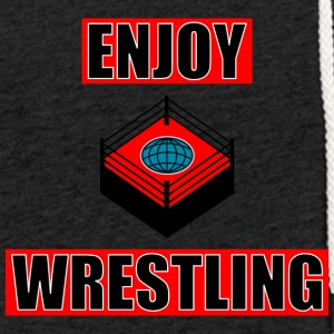 ENJOY_WRESTLING_RED_DesASD - Light Unisex Sweatshirt Hoodie