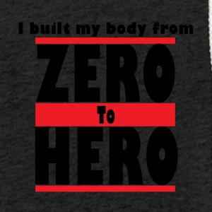 Zero To Hero - Let sweatshirt med hætte, unisex