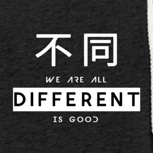 Different is good white - Light Unisex Sweatshirt Hoodie
