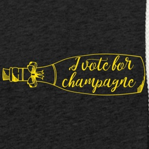 New Years Eve: I vote for champagne - Light Unisex Sweatshirt Hoodie