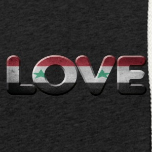I LOVE SYRIA - Light Unisex Sweatshirt Hoodie