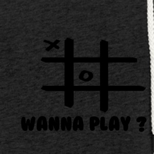 Wanna play - Leichtes Kapuzensweatshirt Unisex
