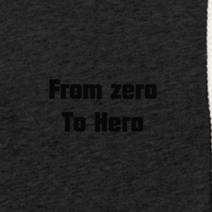 from zero to hero - Light Unisex Sweatshirt Hoodie
