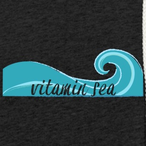 Surfer / Surfing: Vitamin Sea - Light Unisex Sweatshirt Hoodie