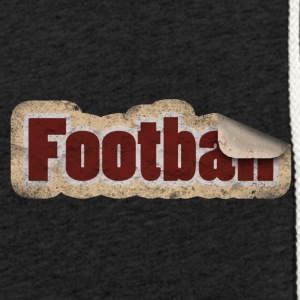 Autocollants de football - Sweat-shirt à capuche léger unisexe