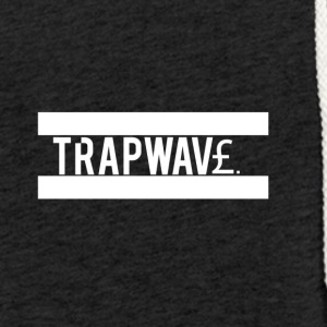 TrapWav£ All White Design - Light Unisex Sweatshirt Hoodie