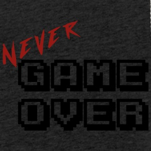Never game over transparent - Light Unisex Sweatshirt Hoodie