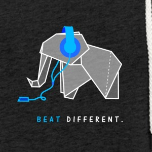 beat different elephant - Light Unisex Sweatshirt Hoodie