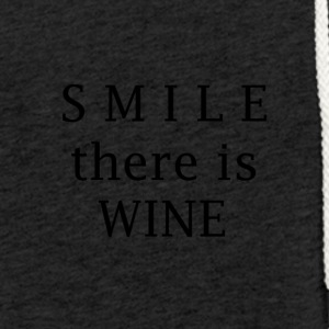 Smile wine - Light Unisex Sweatshirt Hoodie