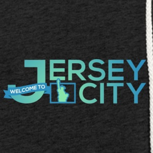 Jersey City Logo - Light Unisex Sweatshirt Hoodie