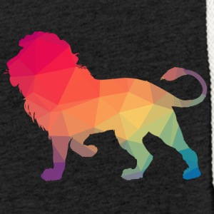 Lion Logo Polygon Bunt - Light Unisex Sweatshirt Hoodie