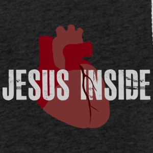 Jesus inside heart - Light Unisex Sweatshirt Hoodie