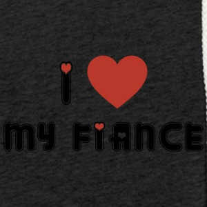 Engaged I Love My Fiance - Light Unisex Sweatshirt Hoodie