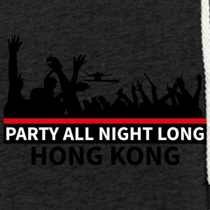 HONG KONG - Party All Night Long - Felpa con cappuccio leggera unisex