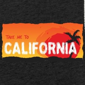 Take Me To California - Lichte hoodie unisex