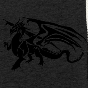 black dragon - Light Unisex Sweatshirt Hoodie