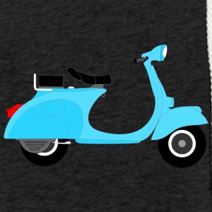 Vespa moped - Light Unisex Sweatshirt Hoodie