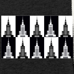 Palace of Culture and Science in Warsaw - Light Unisex Sweatshirt Hoodie