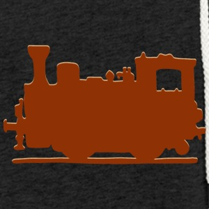 Vintage Steam Train - Lett unisex hette-sweatshirt